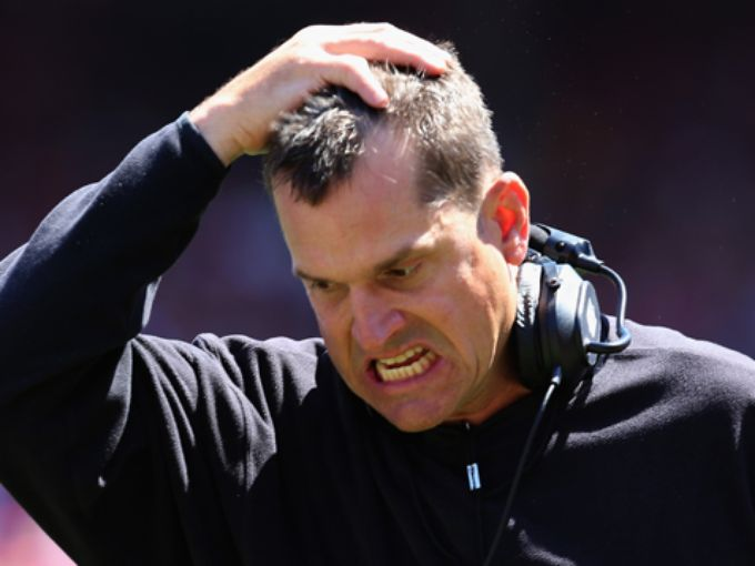 Michigan Loses To Ohio After Blown Calls By Refs; Harbaugh Not Happy (video)