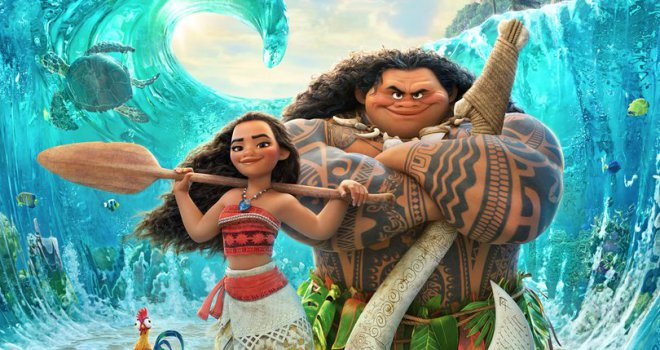 Disney's 'Moana' Wins Thanksgiving Box Office (Trailer)