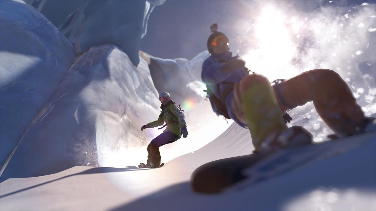 A Snowboarding game that doesn't suck is finally coming out