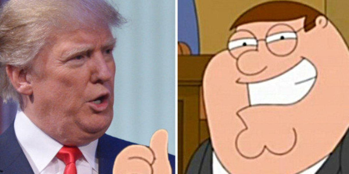 Family Guy Saw the Clinton-Trump Fiasco Coming Fifteen Years Ago (Video)