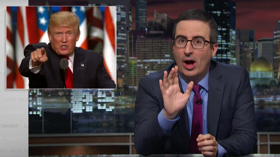 John Oliver Is Back On The Attack (Video)