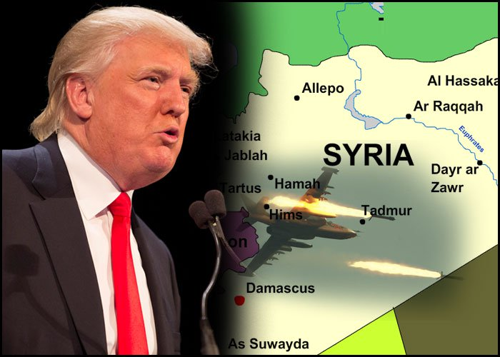 Trump and Syria Join Forces to Fight PARIS