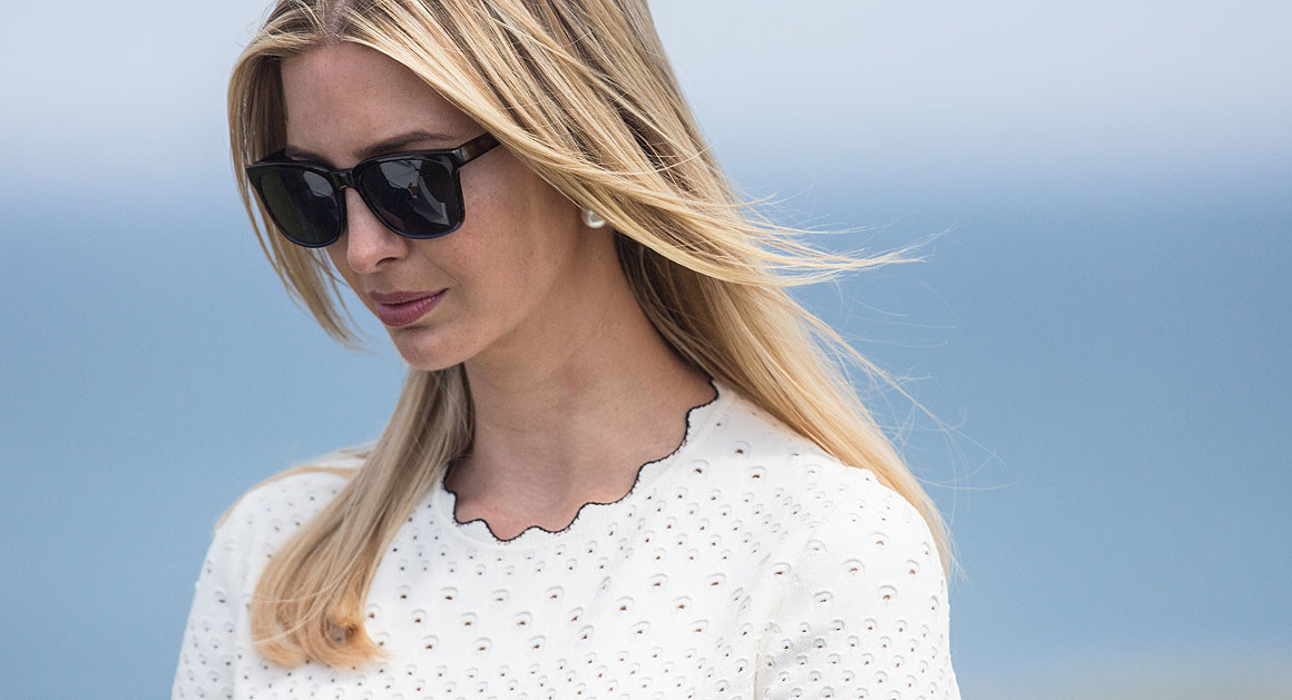 Ivanka Trump Piloted Air Force One FromEurope