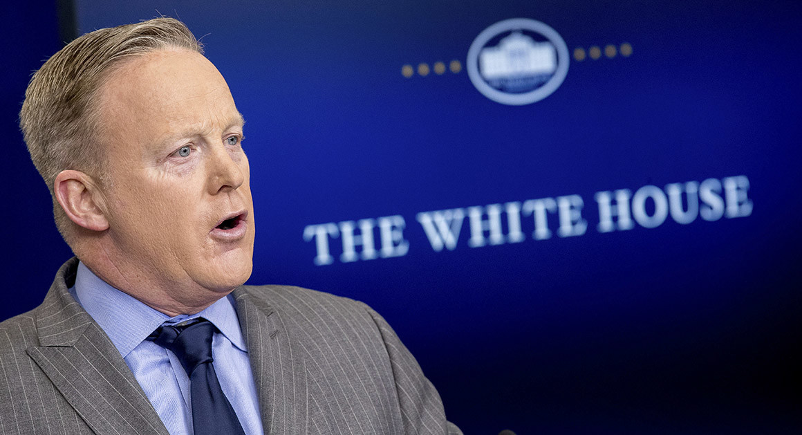 White House Withholding Sean Spicer's Last Two Paychecks