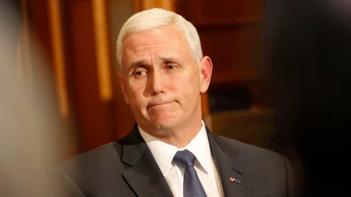 Pence Said Mens and Womens Bathroom Were Too close At Colts Stadium